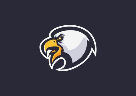 adelaarshoofd sport mascotte Stock Illustratie