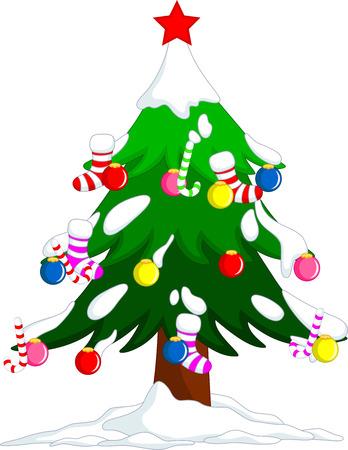 Christmas tree decorations  Stock Vector - 24149736
