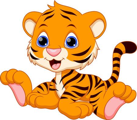 Tiger cub: Historieta linda del tigre de beb�