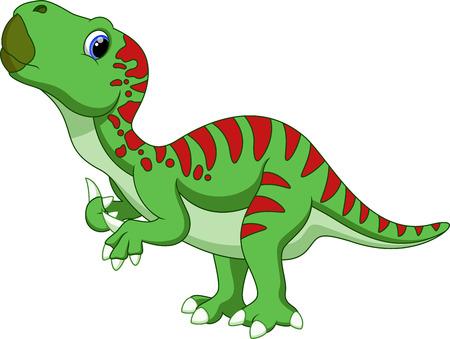 stegosaurus: Dinosaurio Iguanodon de dibujos animados