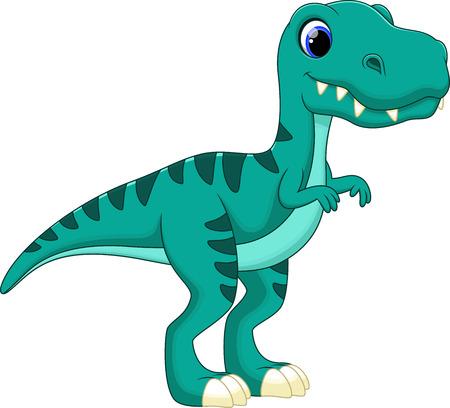 Tyrannosaurus cartoon Vector Illustration