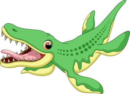 petrifying: liopleurodon cartoon