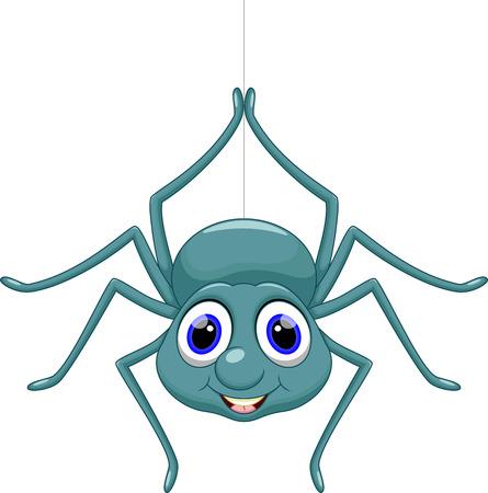 Bande dessinée mignonne d'araignée Banque d'images - 33879468
