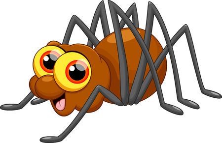 Bande dessinée mignonne d'araignée Banque d'images - 33879488