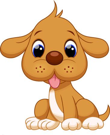 かわいい子犬の漫画