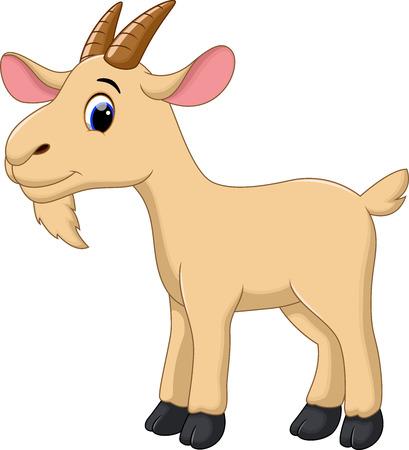 cute goat cartoon royalty free cliparts vectors and stock rh 123rf com goat clip art free download goat clip art silhouette