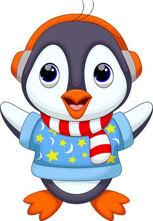 cartoon penguin: Cute penguin cartoon