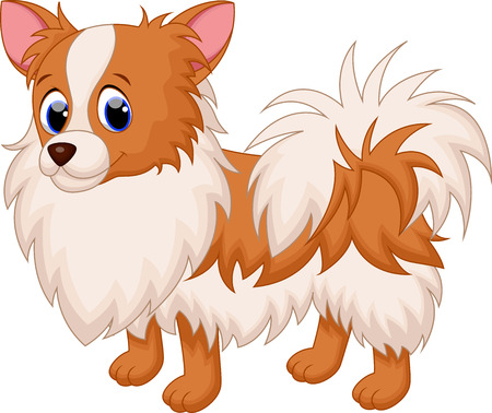cartoon chihuahua: Cute chihuahua dog cartoon