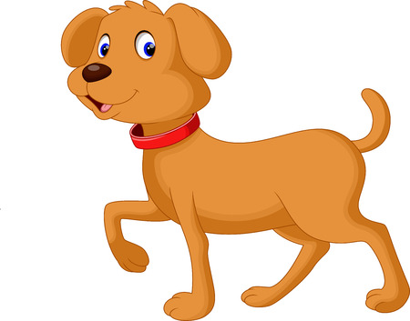 hound: Cute dog cartoon