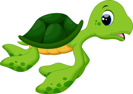 baby turtle: Cute baby turtles Illustration