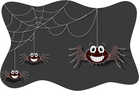 crawly: Funny spider cartoon