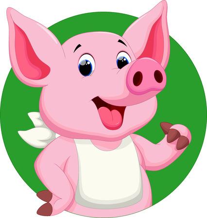 Historieta linda del cerdo