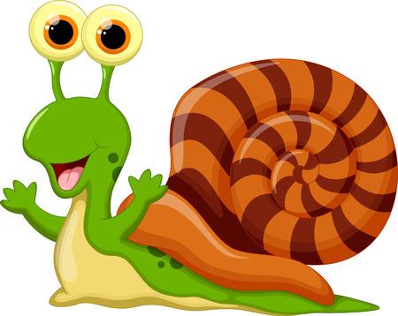 animalitos salvajes: Historieta linda del caracol