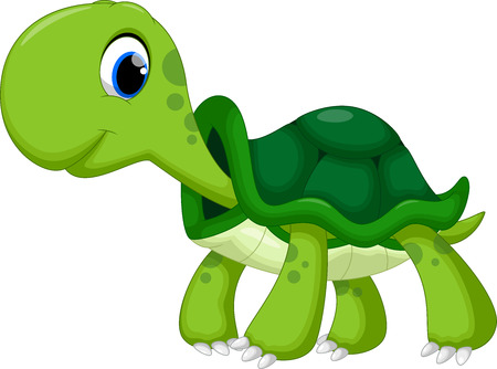 schildkroete: Nette Schildkröte-Cartoon