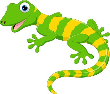 귀여운 도마뱀 만화