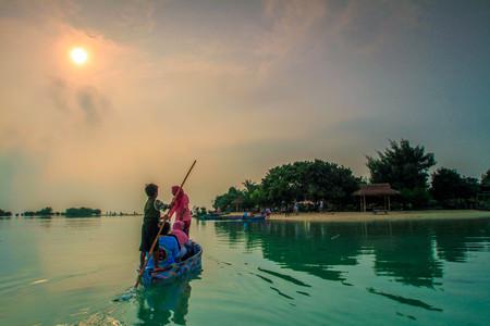 morning at Pari Island Jakarta Indonesia