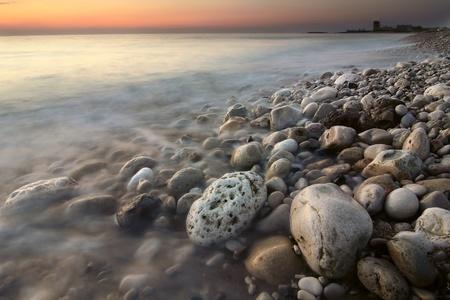 Sunset on the Mediterranean Sea, Lebanon.