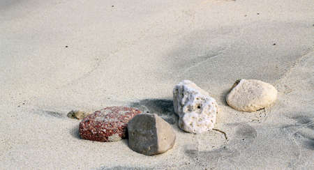 landfall: Background  Sand and stones Stock Photo
