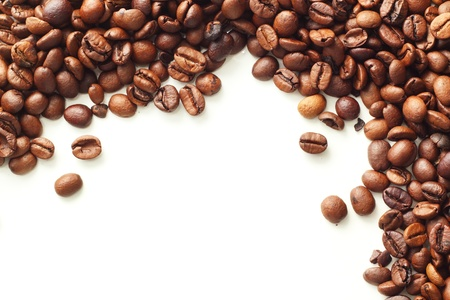 Coffee on white background Stock Photo - 16776078