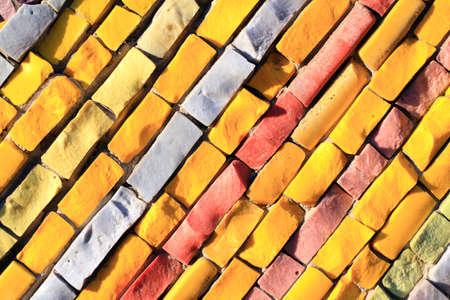 Yellow tiles texture Stock Photo - 16776473