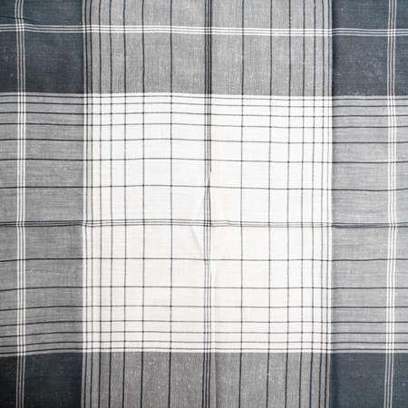 Grey square textile texture Stock Photo - 16776491
