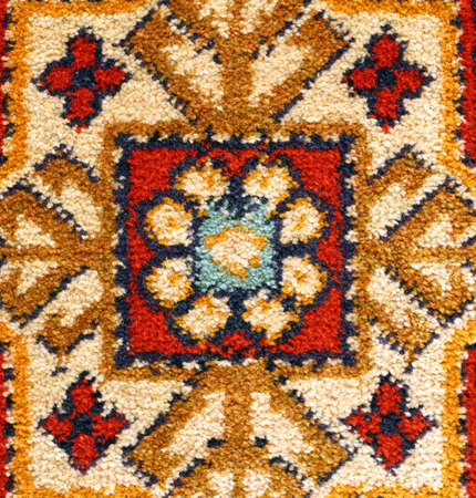 Fragment of carpet pattern. Stock Photo - 16776459