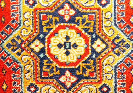 Fragment of carpet pettern.  Stock Photo - 16776494