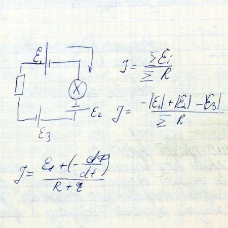 Physic formulas.