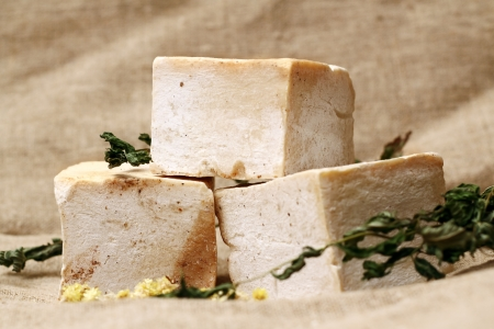 Handmade natural soap photo