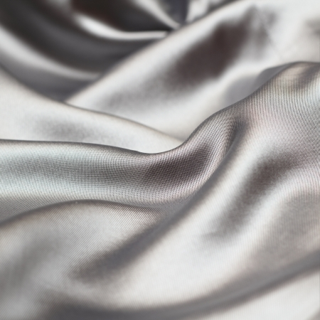 Grey silk texture Stock Photo