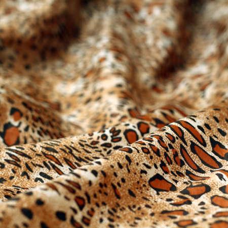 Leopard silk texture Stock Photo