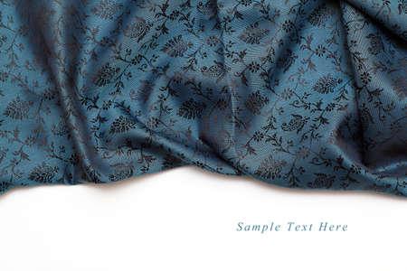 Beautiful Blue Silk Background