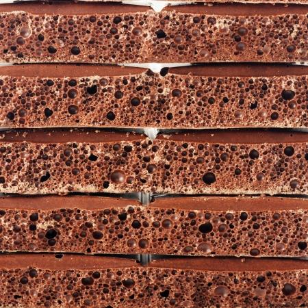 porous: Porous chocolate background