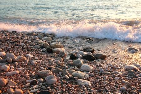 Stone sea coast