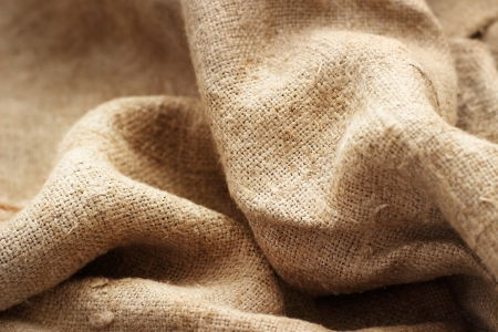 Burlap textile texture
