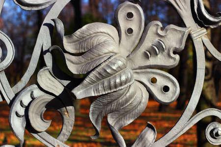 smithery: Detail of Mikhailovsky (Michael) garden fence, Saint Petersburg, Russia