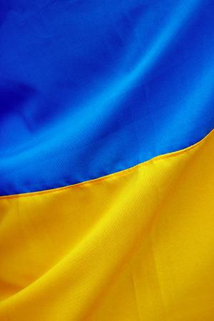 Ukrainian flag photo