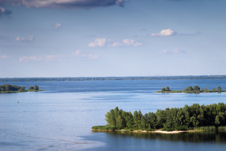 dniper: Dnieper river view, Ukraine