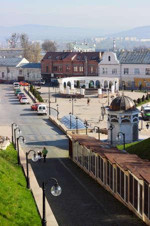 chernivtsi: Square in old city, Chernivtsi, Ukraine