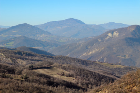 apennines: Typical landscape in the Apennines mountains, Italy