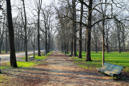 ducale: Ducale park in Parma, Italy. Stock Photo
