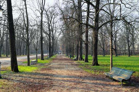 giardino: Ducale park in Parma, Italy. Stock Photo