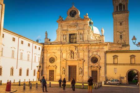 Baroque church Chiesa di San Giovanni Evangelista in Parma, Emilia-Romagna, Italy. Editorial