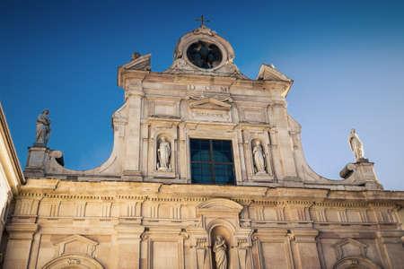 Baroque church Chiesa di San Giovanni Evangelista in Parma, Emilia-Romagna, Italy. Stock Photo