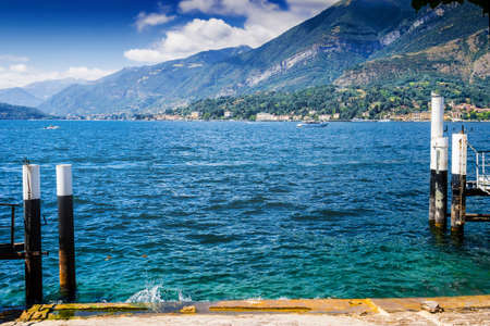 View of Como lake, Italy.