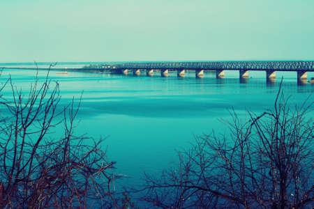 Dnieper river view, Ukraine