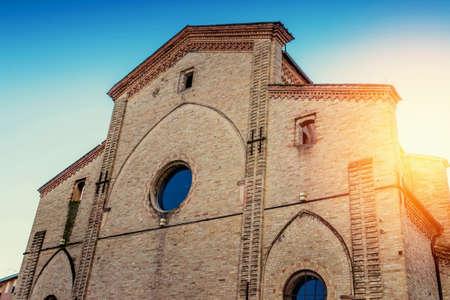 Auditorium del Carmine builing (ex chiesa di Santa Maria del Carmine) in Parma, Emilia-Romagna, Italy Stock Photo