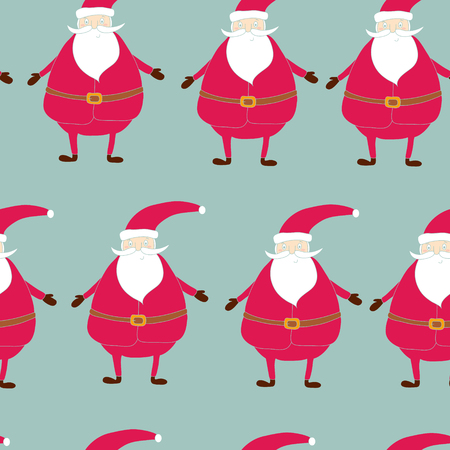 Seamless hand-drawn pattern of Christmas. Printable templates. Illustration