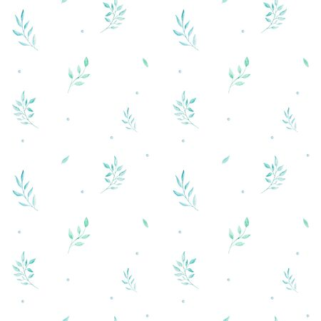 Watercolor seamless pattern with flowers, bohemian watercolour decoration pattern. Design for invitation, wedding or greeting cards 写真素材 - 127986417