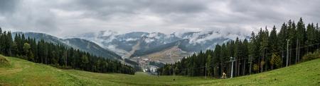 Ukraine,'Carpathian Mountains, Bukovel, ski resort Reklamní fotografie